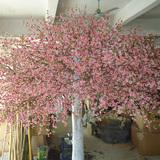 真树杆仿真桃花树