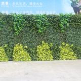 车间仿真植物墙展示05